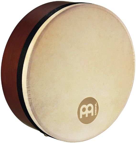 Meinl Percussion 12 inch Goat Head Bendirs Frame Drums - Brown - FD12BE